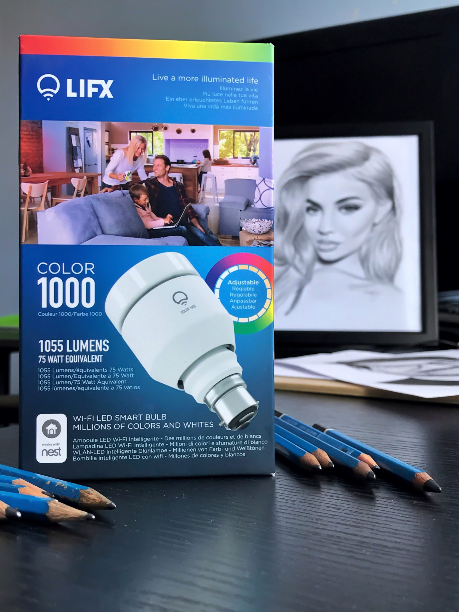 LIFX Bulb – lighting every artist needs.