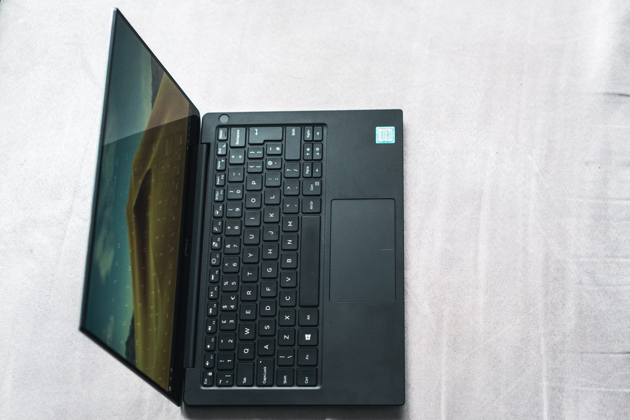 dell xps 13 overhead